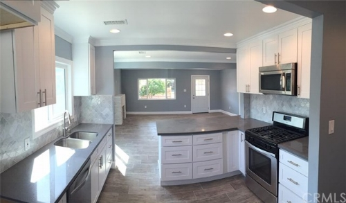 Minor Kitchen Remodel - New cabinet fronts and hardware, new appliances, new counter top and sink, new flooring.Average Cost:   $24,957Return:       $19,100ROI:         77%