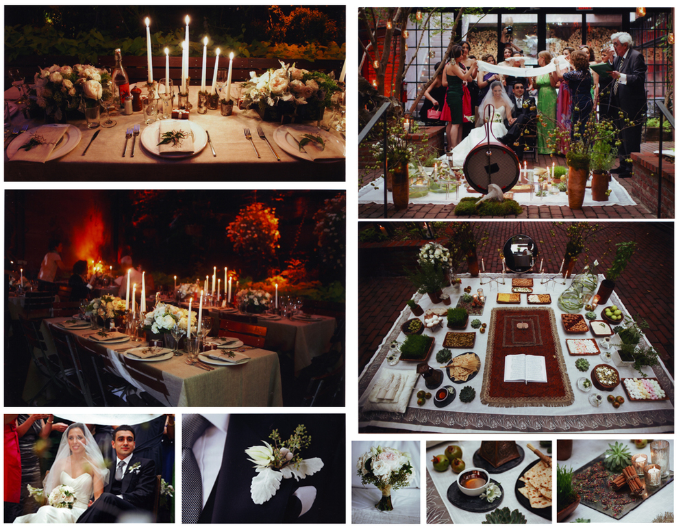 Persian traditional wedding