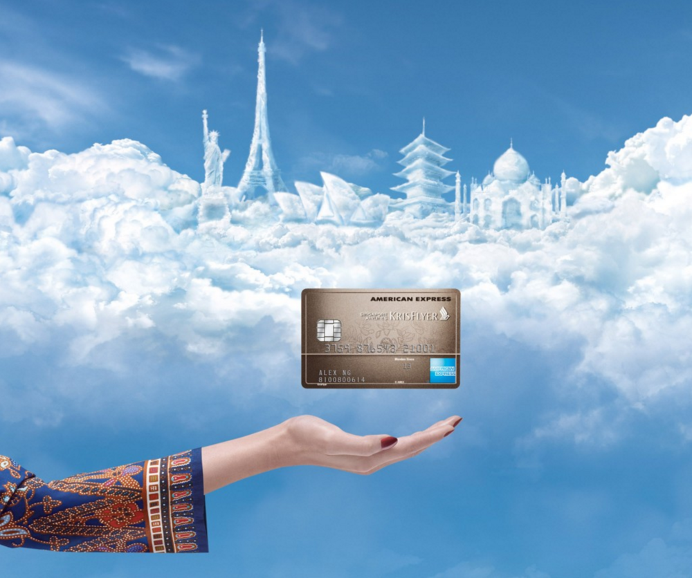 Singapore Airlines – Krisflyer Amex Credit Card