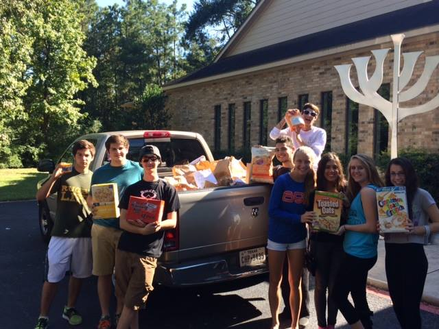 Social Action food drive