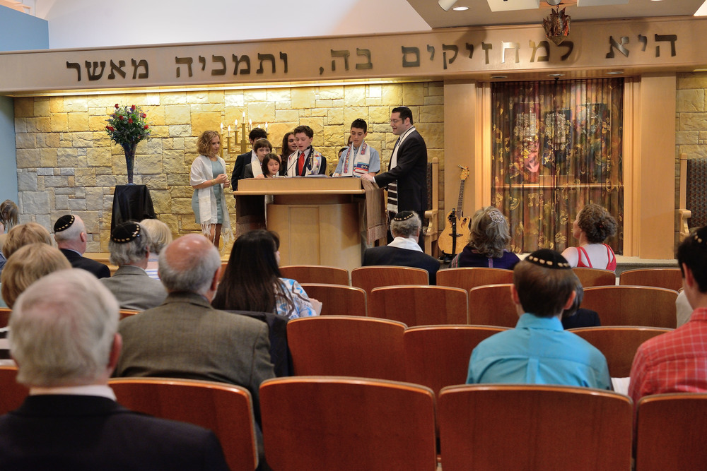 Bar Mitzvah service