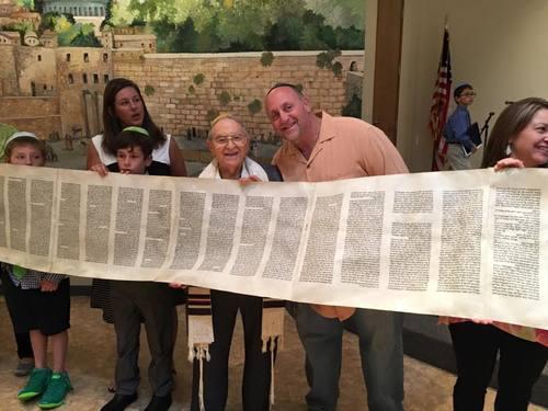 Unrolling the Torah Scroll