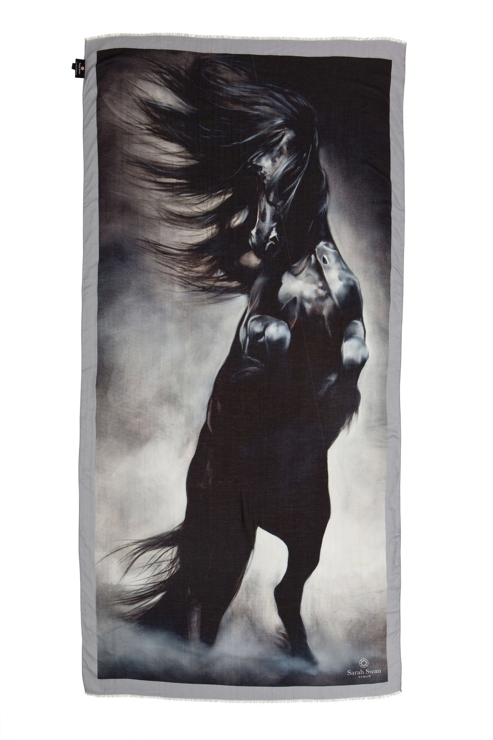 Tony O Connor - The Tony O Connor Equine Collection is a limited edition prints on scarves. Tony is an equine artist born in Kerry. The horse and the beauty of it majestic form and spirit are the basis of his canvas.