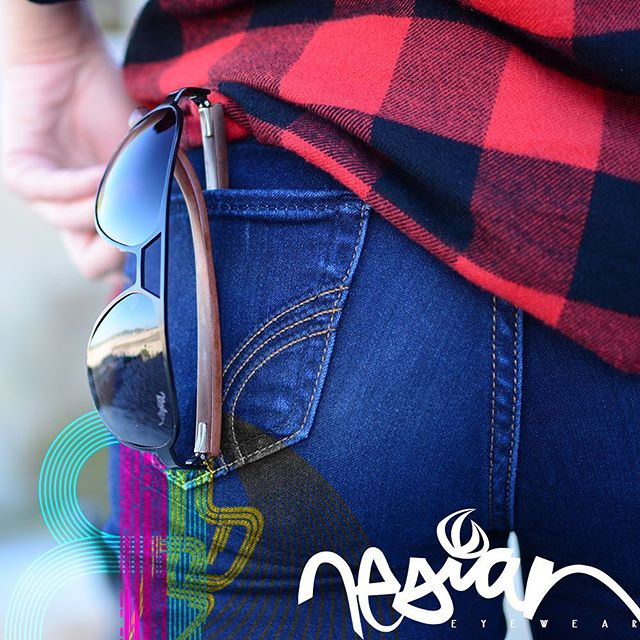 The strength of titanium alloy and the #beauty of #exotic #Hawaiian woods... #Aloha never looked so good! Grab a pair of #Nesian #Shades today on #Kickstarter | Click the link on our bio! #NesianShades