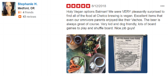Click on the review to read others or leave your own on Yelp