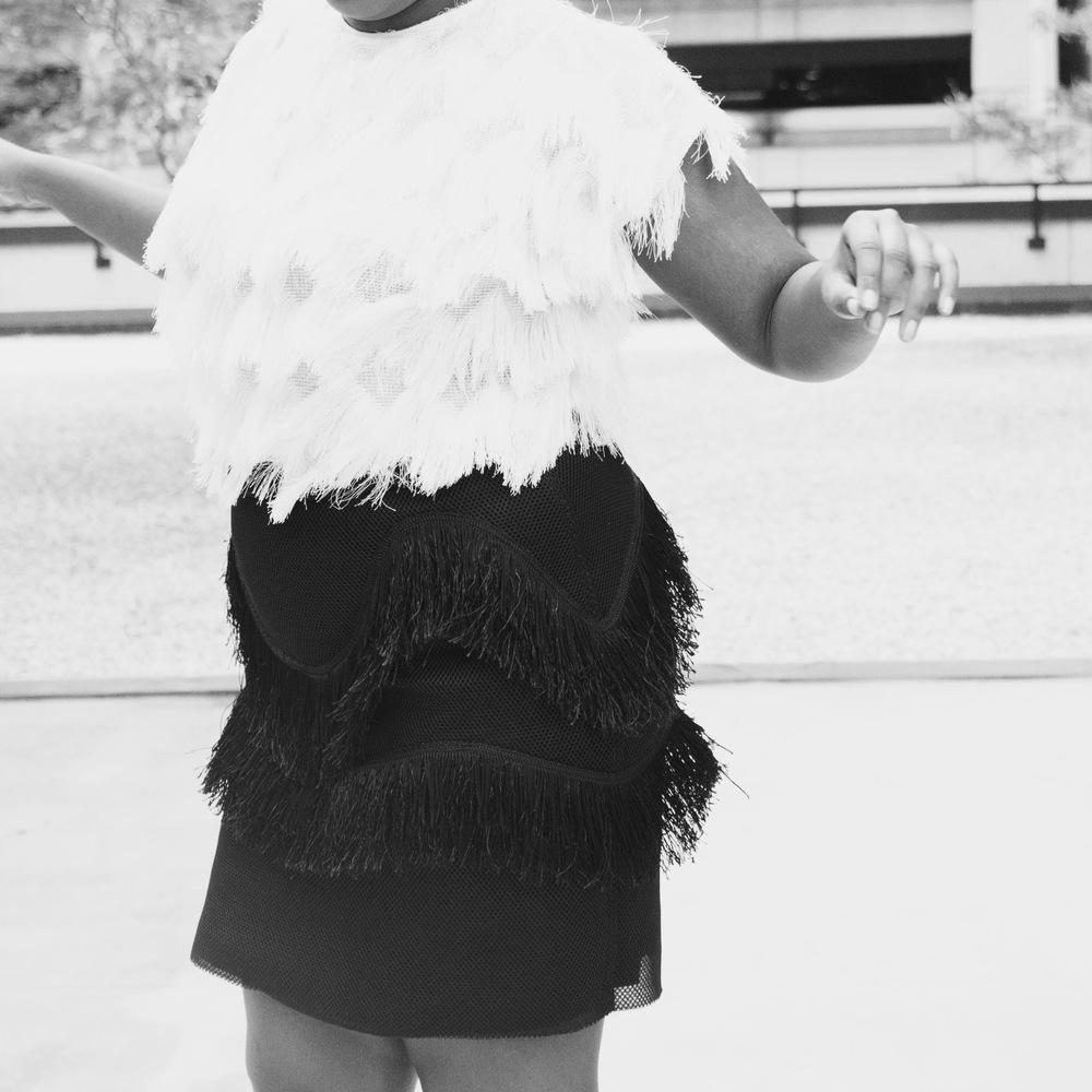 Jcrew Roxie Ankle Tie Pumps Hayet Rida Eloquii Studio Fringe Skirt Topshop Layered Fringe Kimono 3