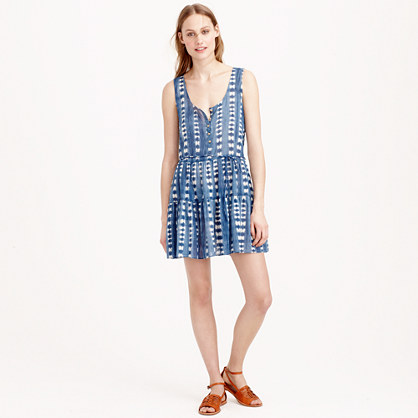 Jcrew Henley Dress in Faded Adire That Hayet Rida 2.jpg