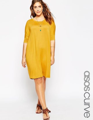 Asos Curve Yellow Dress