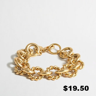Jcrew Factory GOld-Plated Chain Link.jpg