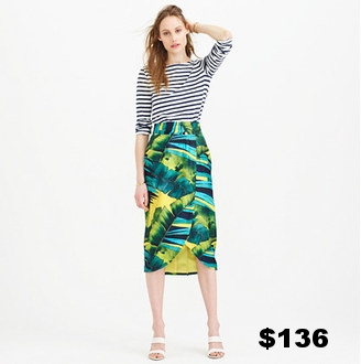 Jcrew Collection Faux Wrap Skirt.jpg