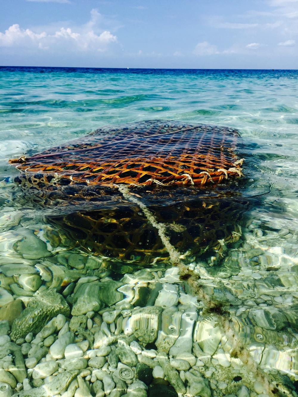 Fishing basket.
