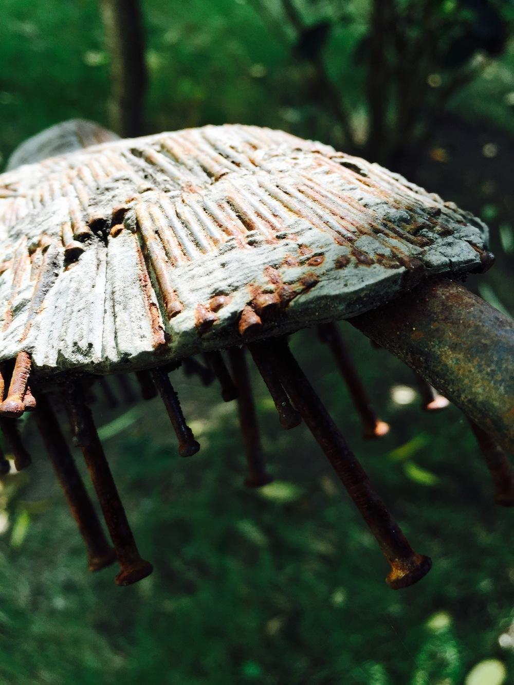 Haitian Earthquake Memorial -A nail in the coffin.