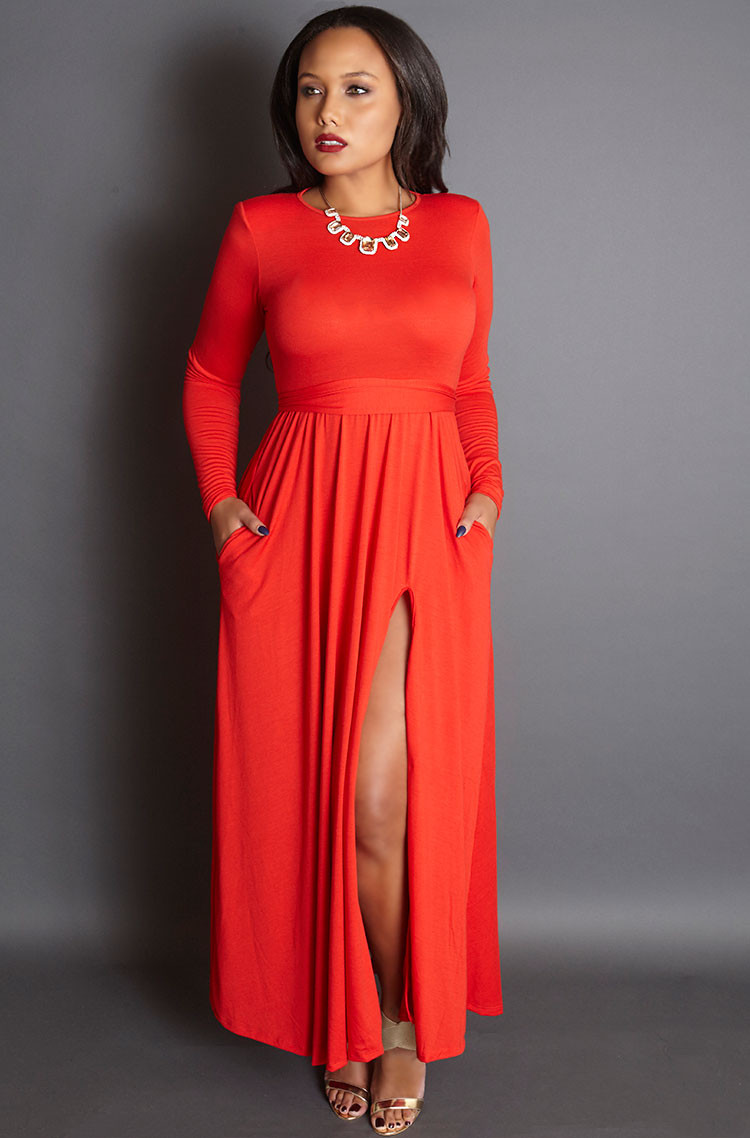 Unforgettable-red-gown-with-shoulder-pads-grisel-holiday-2015-collection.jpg