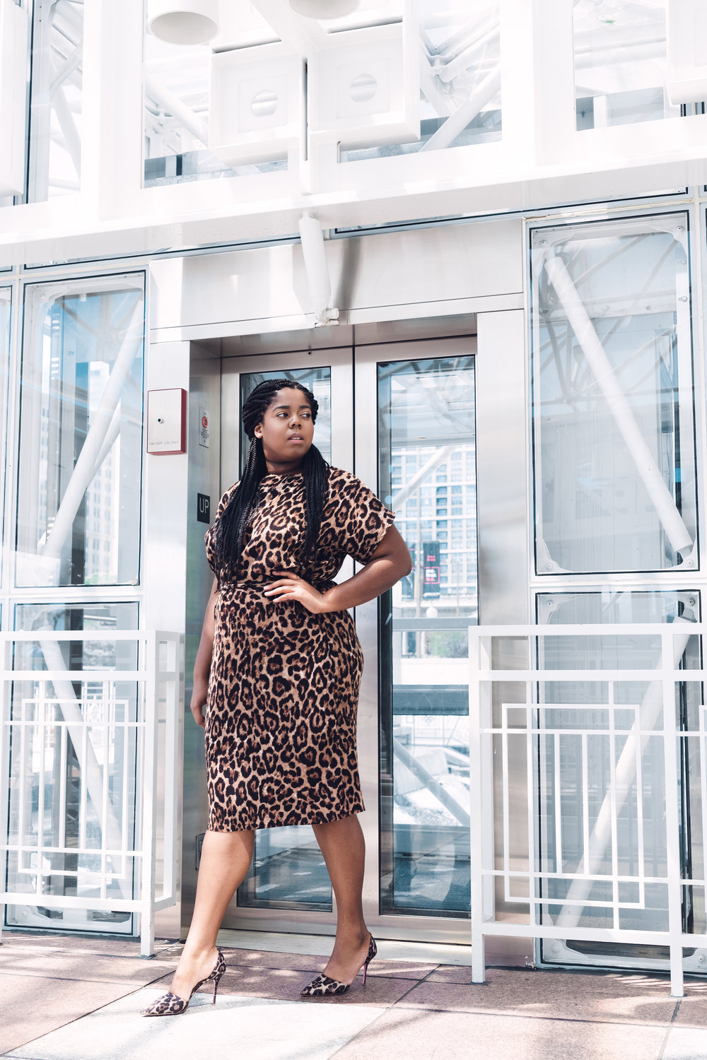 That Hayet Rida New Look Pleated Leopard Midi Asos Asseenonme Plus Size Blogger Chicago Influencer 1 .JPG