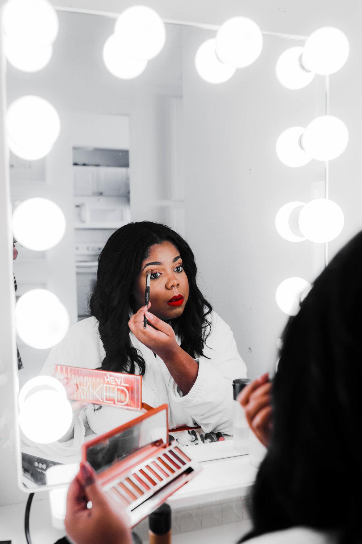 Hayet Rida Chicago Beauty Blogger Impressions Vanity Mirror Melanin Beauty Makeup Dark skin 8.jpg