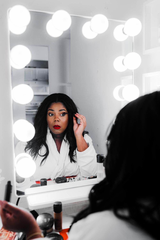 Hayet Rida Chicago Beauty Blogger Impressions Vanity Mirror Melanin Beauty Makeup Dark skin 1.jpg