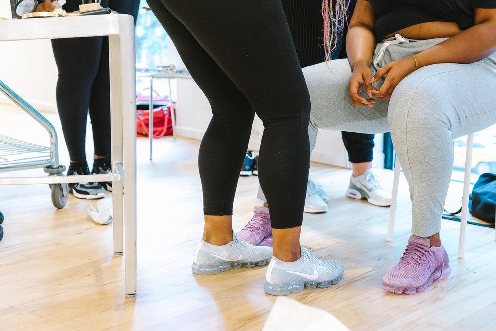 Hayet Rida Chicago Nike Plus Size Line Event Fashion Lifestyle Blogger Nike Air Society Vapor Max 18.jpg