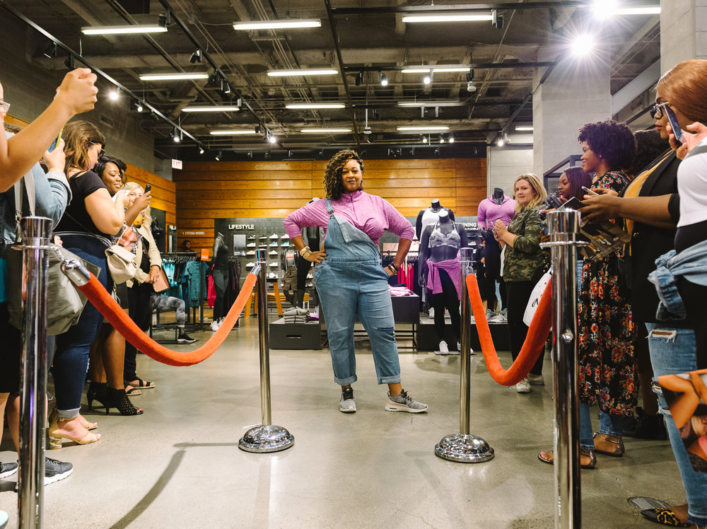 Hayet Rida Chicago Nike Plus Size Line Event Fashion Lifestyle Blogger Nike Air Society Vapor Max 52.jpg