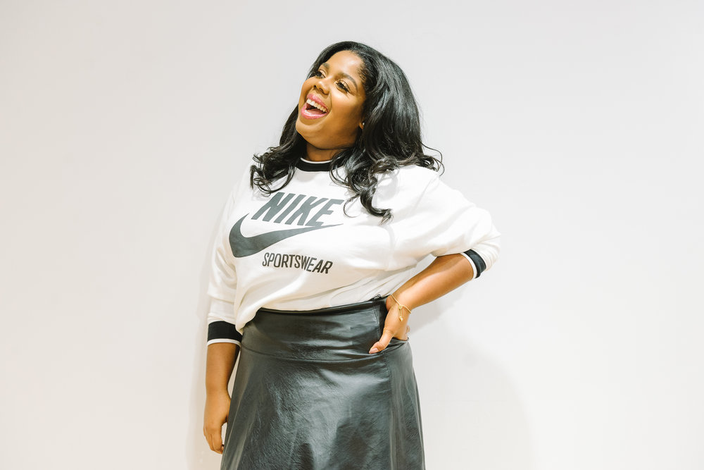 Hayet Rida Chicago Nike Plus Size Line Event Fashion Lifestyle Blogger Nike Air Society Vapor Max 34.jpg