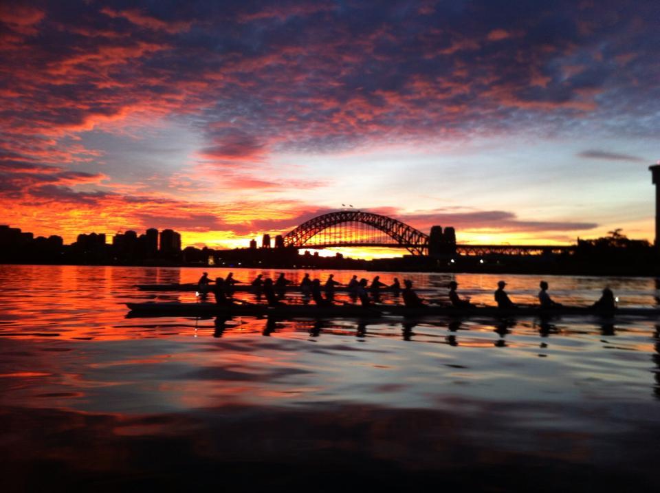 Dawn in Sydney