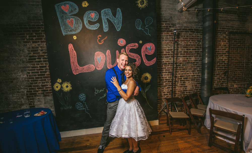 Member Ben's wedding picture