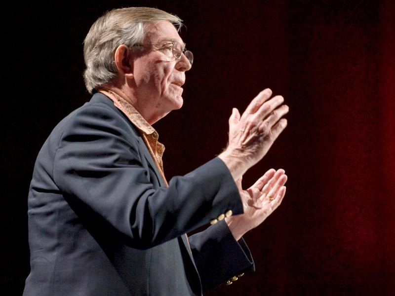 """Ted Talk: The Business Logic of Sustainability At his carpet company, Ray Anderson has increased sales and doubled profits while turning the traditional """"take / make / waste"""" industrial system on its head. In a gentle, understand way, he shares a powerful vision for sustainable commerce."""