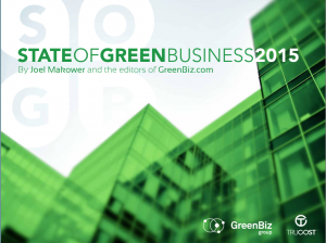 The eighth annual State of Green Business report continues our tradition of opening a window into how, and how much, companies are improving their environmental performance and how much their efforts are making a difference.