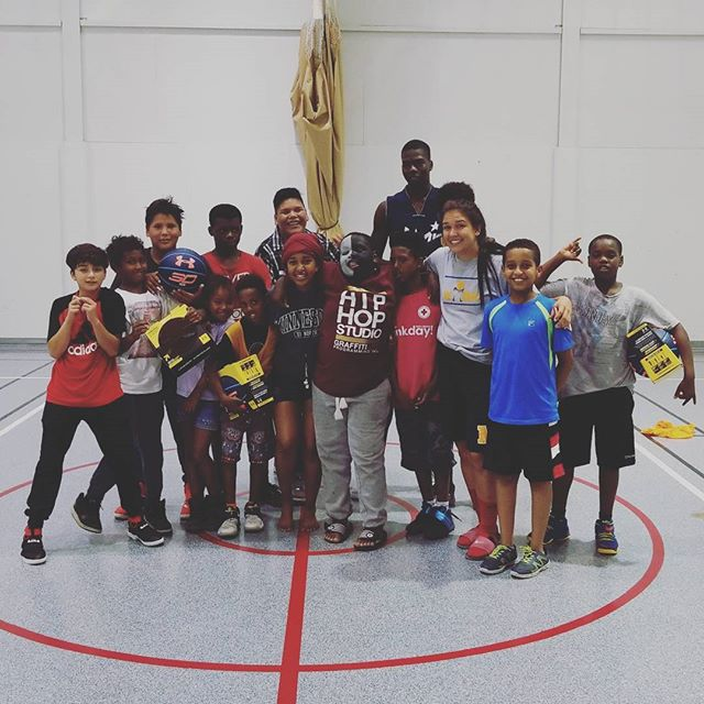 And thus ends our three weeks of basketball camp at Turtle Island Recreation Centre! Until next year TI! #wpg #dropzone #basketball
