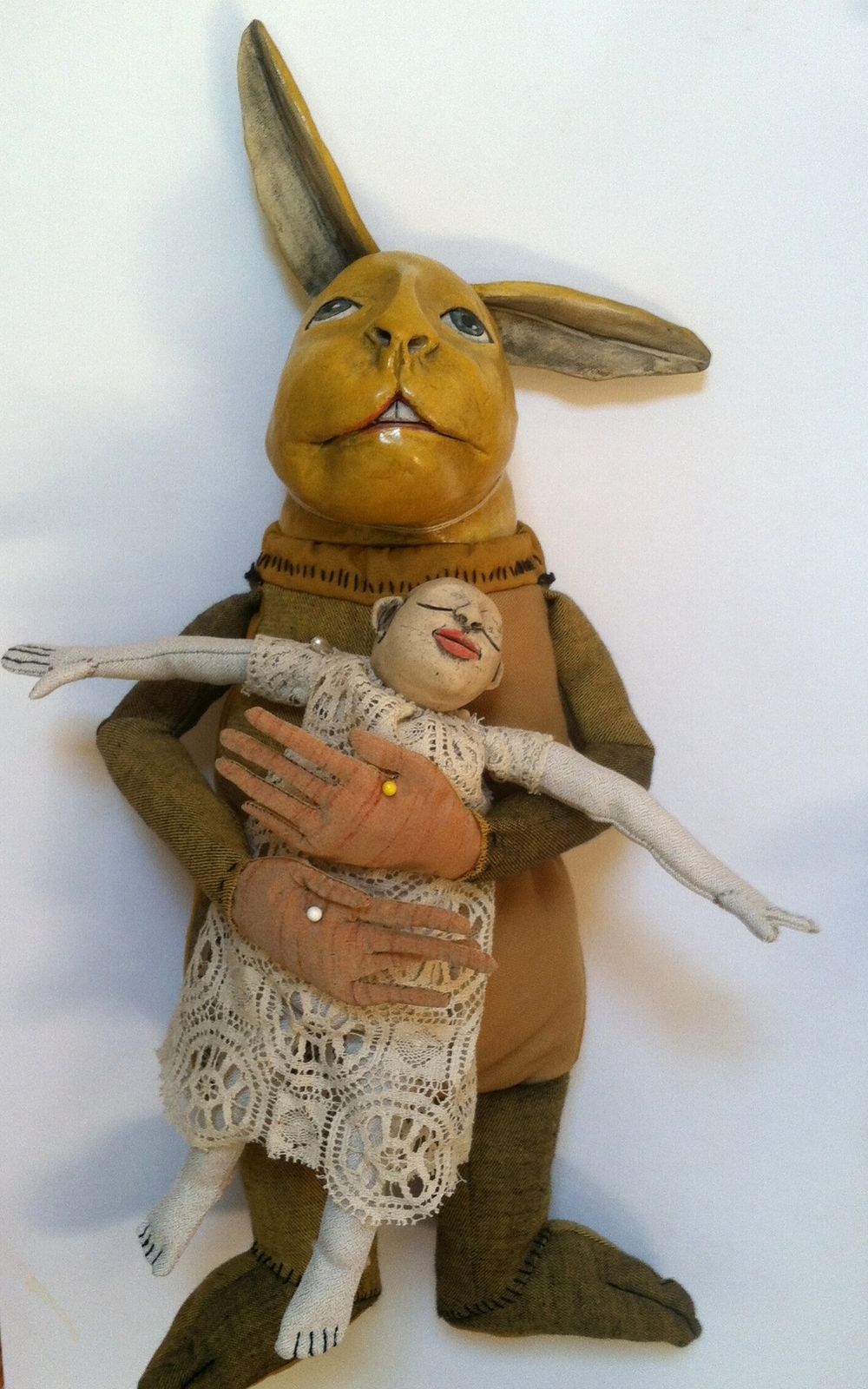 Rabbit did not so much love his Human Doll as depend on her for comfort, compliments, and someone to bounce ideas off of.