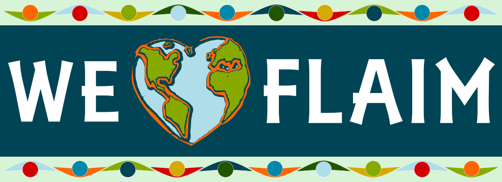 FLAIM Rectangle Bumper Sticker
