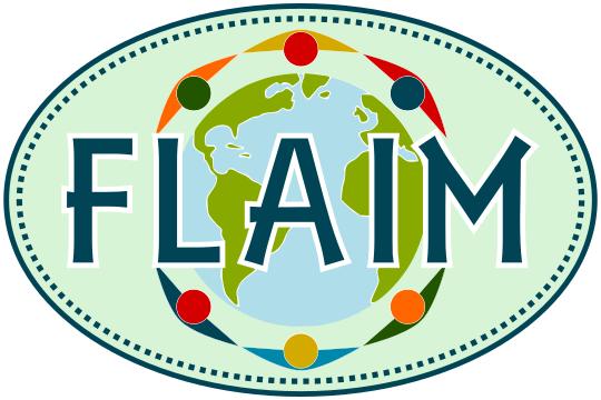 FLAIM Oval Bumper Sticker