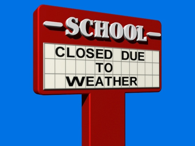 Image result for school closed due to weather