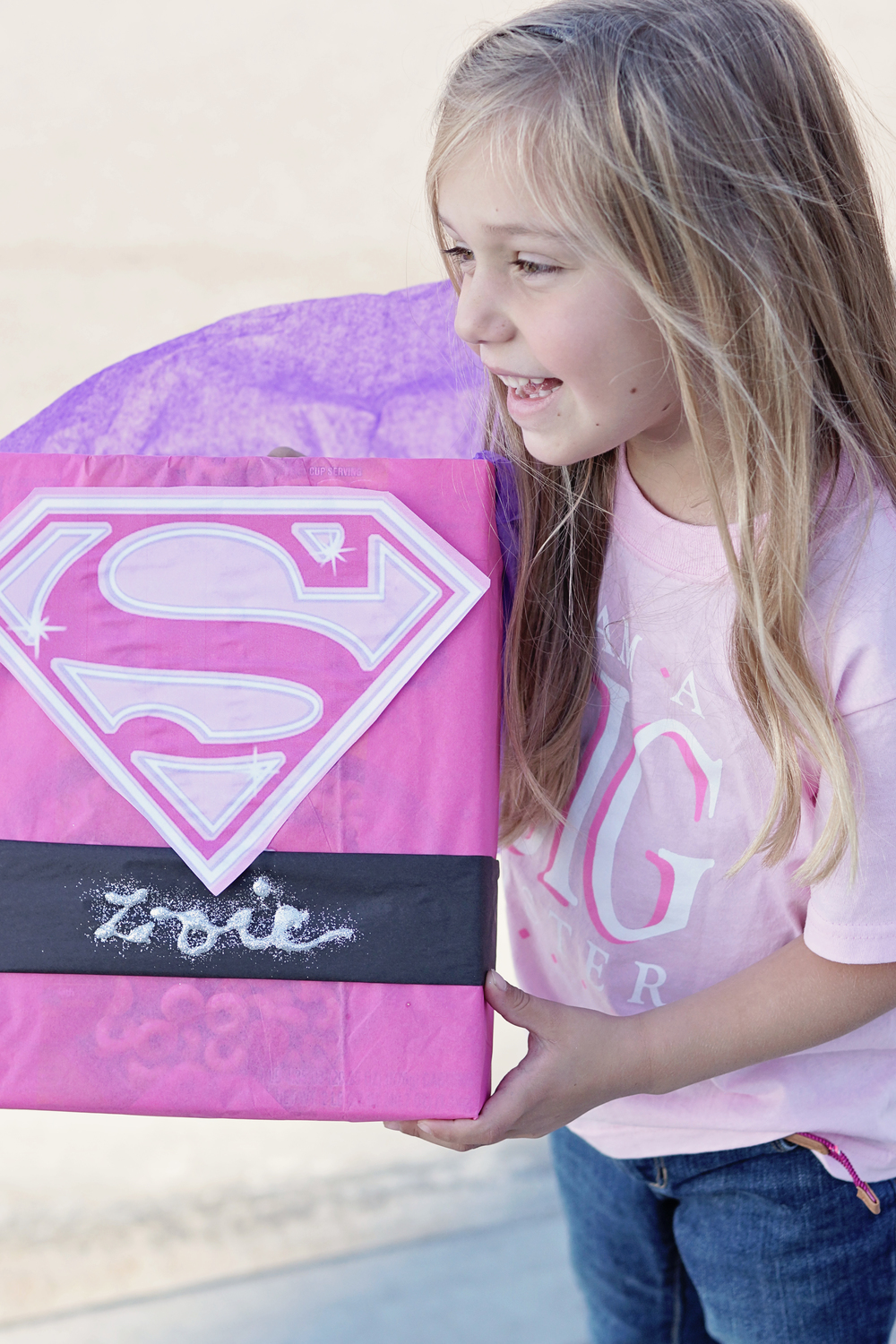 Super girl box