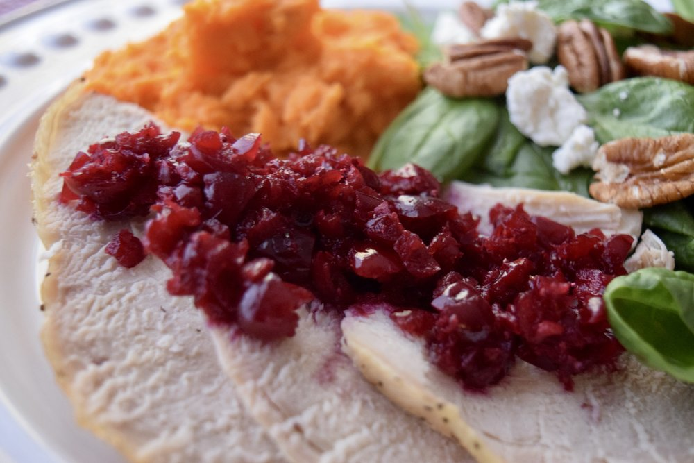 Cranberry thanksgiving holiday paleo fermented