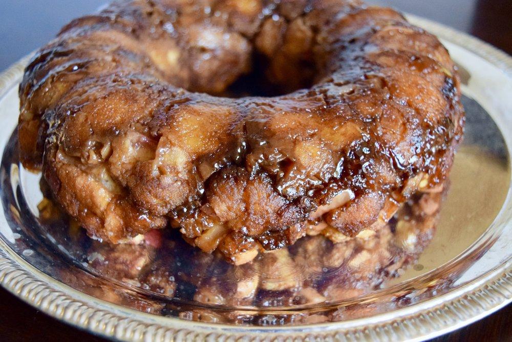 cinnamon apple brunch paleo bread