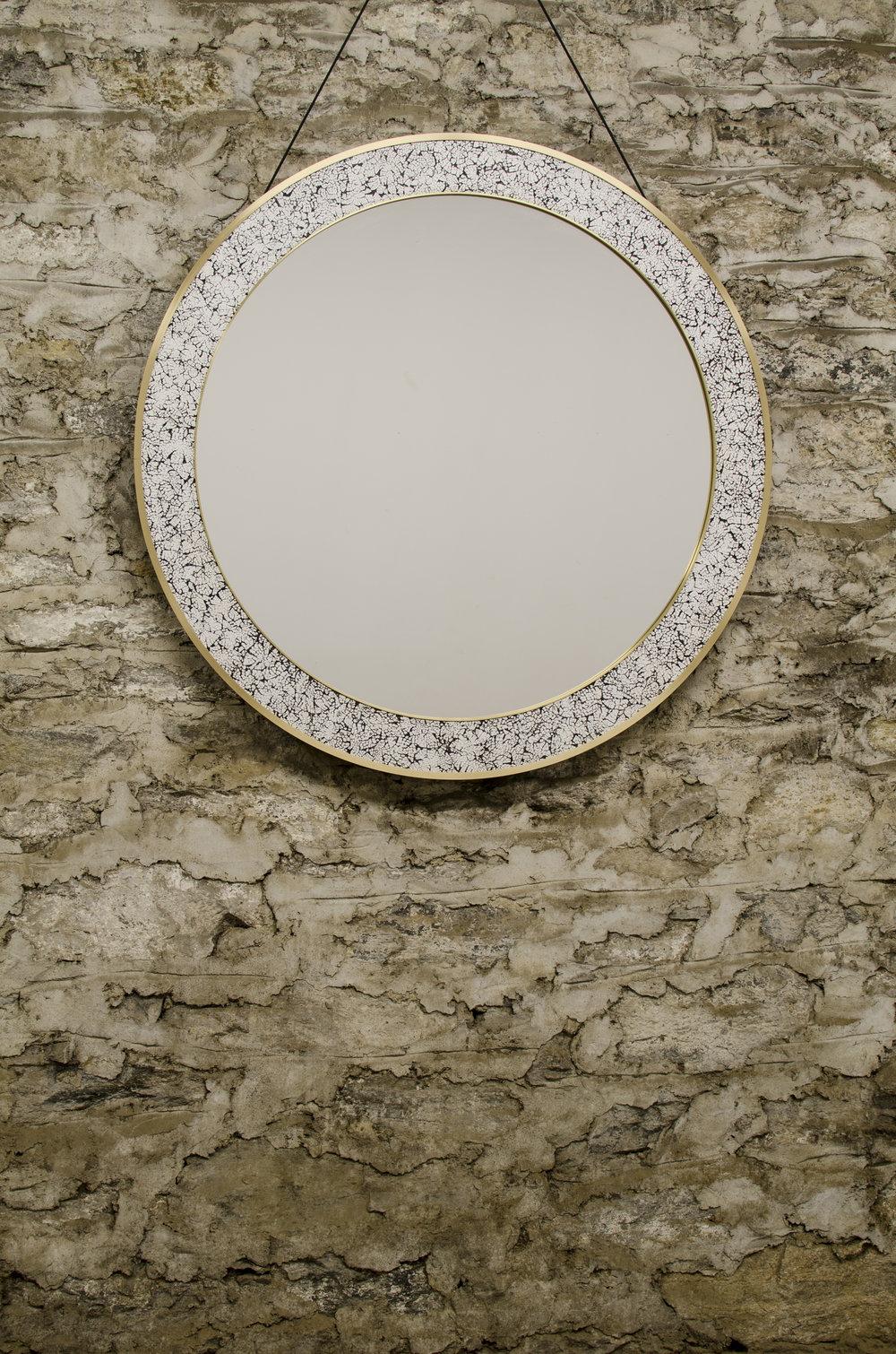 L'Oeuf Mirror (Round)