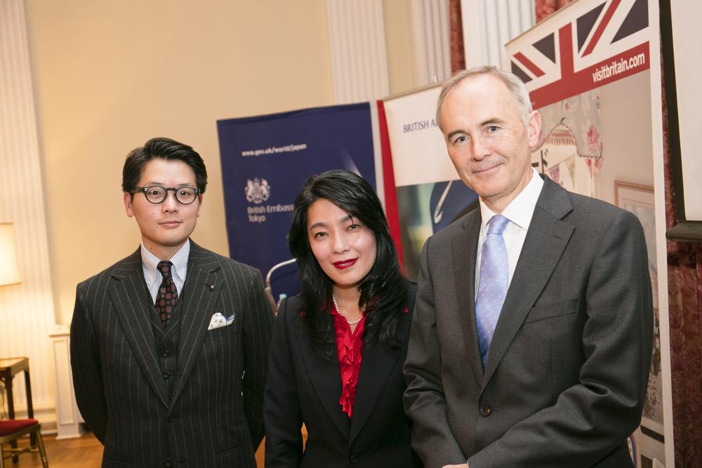 Myself, Yoshimi Hasegawa and Ambassador Tom Hitchens