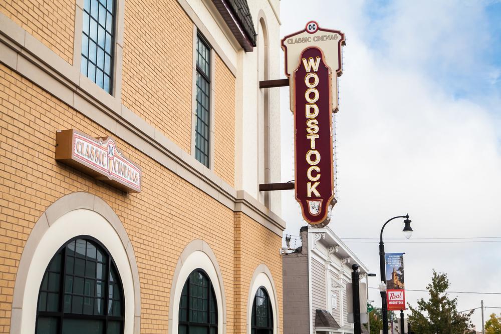 Woodstock Theatre Classic Cinemas. Woodstock, IL. #realwoodstock #movies #woodstocktheatre