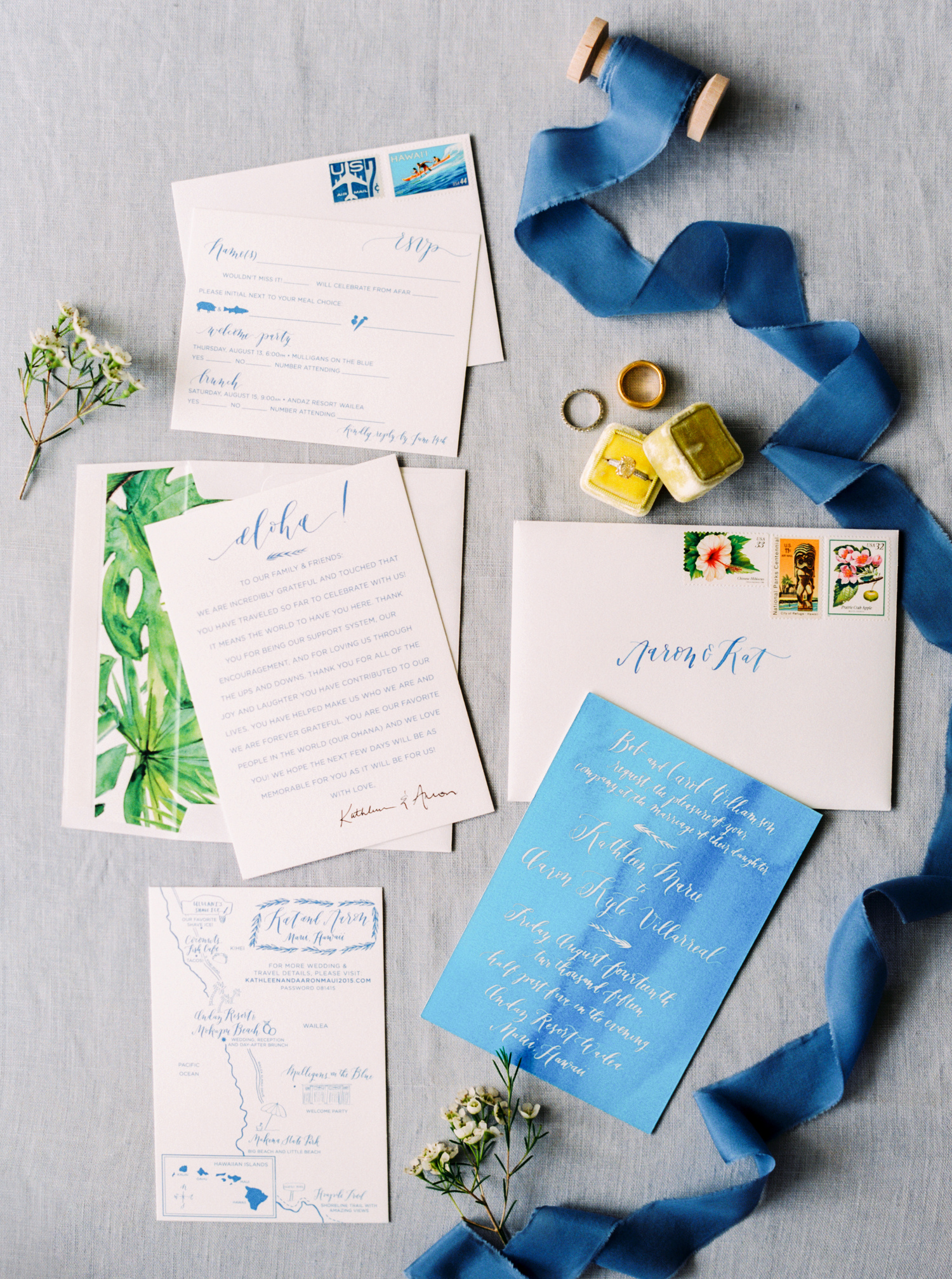 Andaz Maui Wedding — Mandy Grace Designs