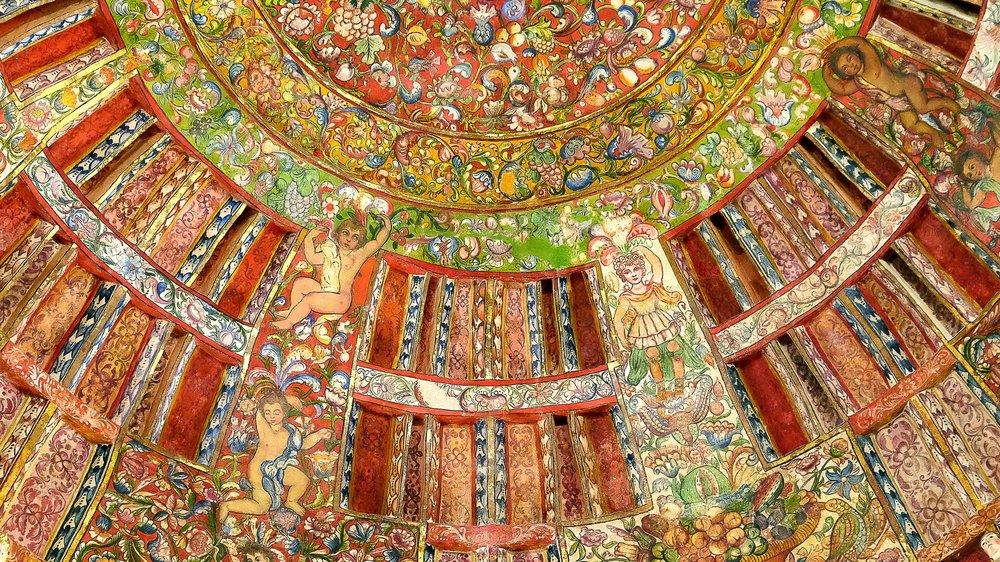 Arequipa San Francisco Church Ceiling Mural