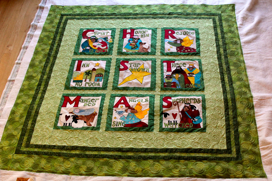 Nancy's Christmas Quilt