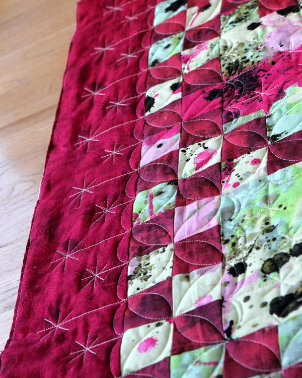 Border detail on Robert's quilt