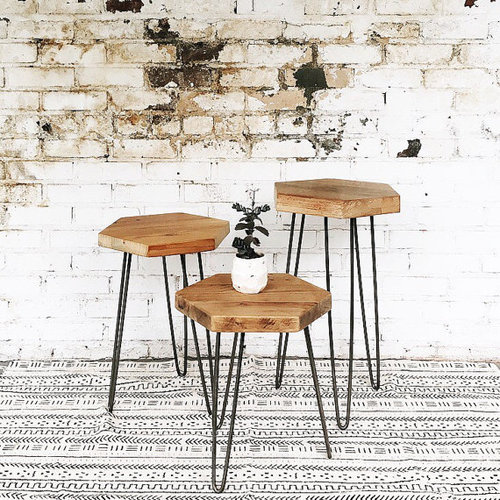 PostTyler Kingston Mercantile - Hexagon wood coffee table