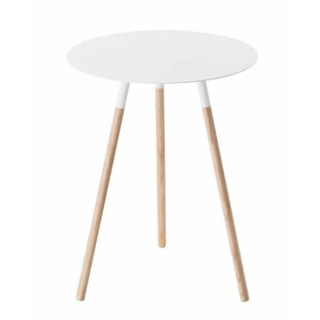 Modern Side Table, White