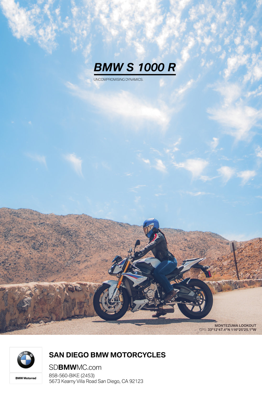 BMW Motorcycle S1000 R