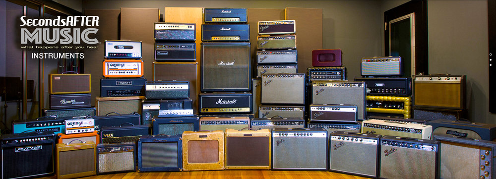 AMPLIFIER & INSTRUMENT COLLECTION