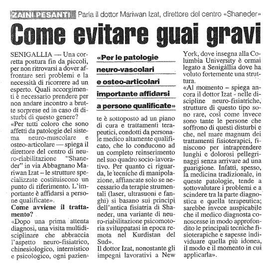 Resto del Carlino - Articolo del 04/09/2004