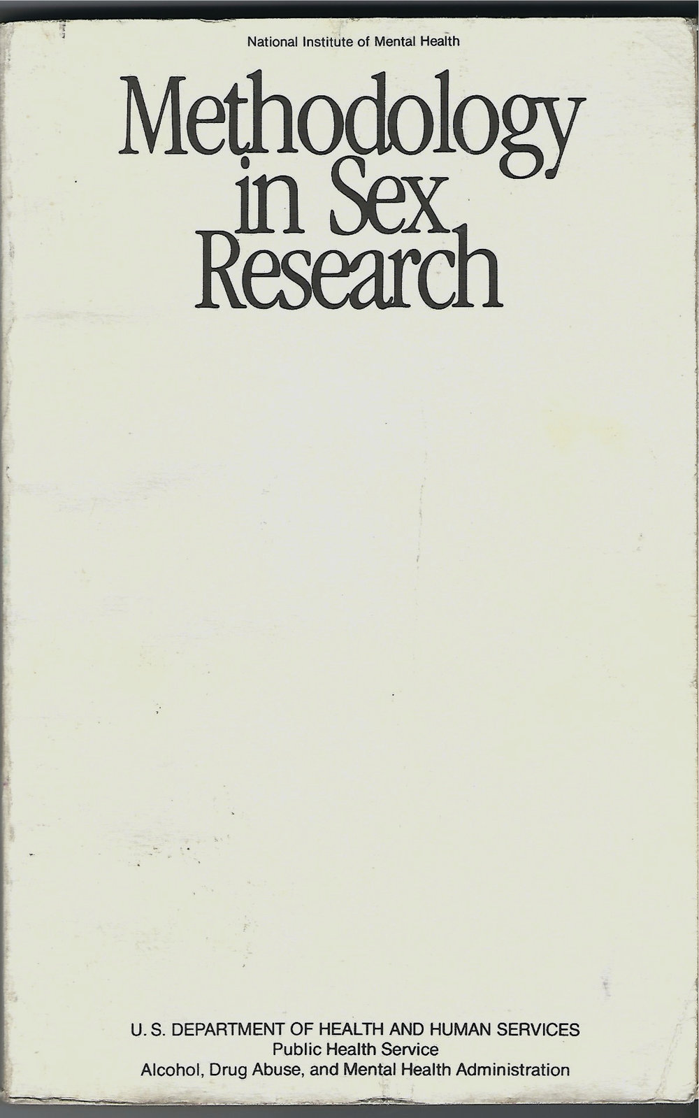 Methodology in Sex Research - Richard Green & Jack Weiner1980