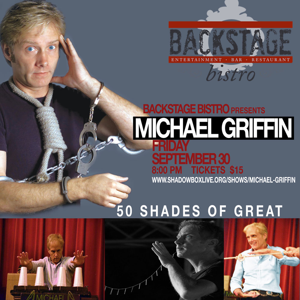 michael griffin americas escape hero presents 50 shades of great magic in columbus ohio