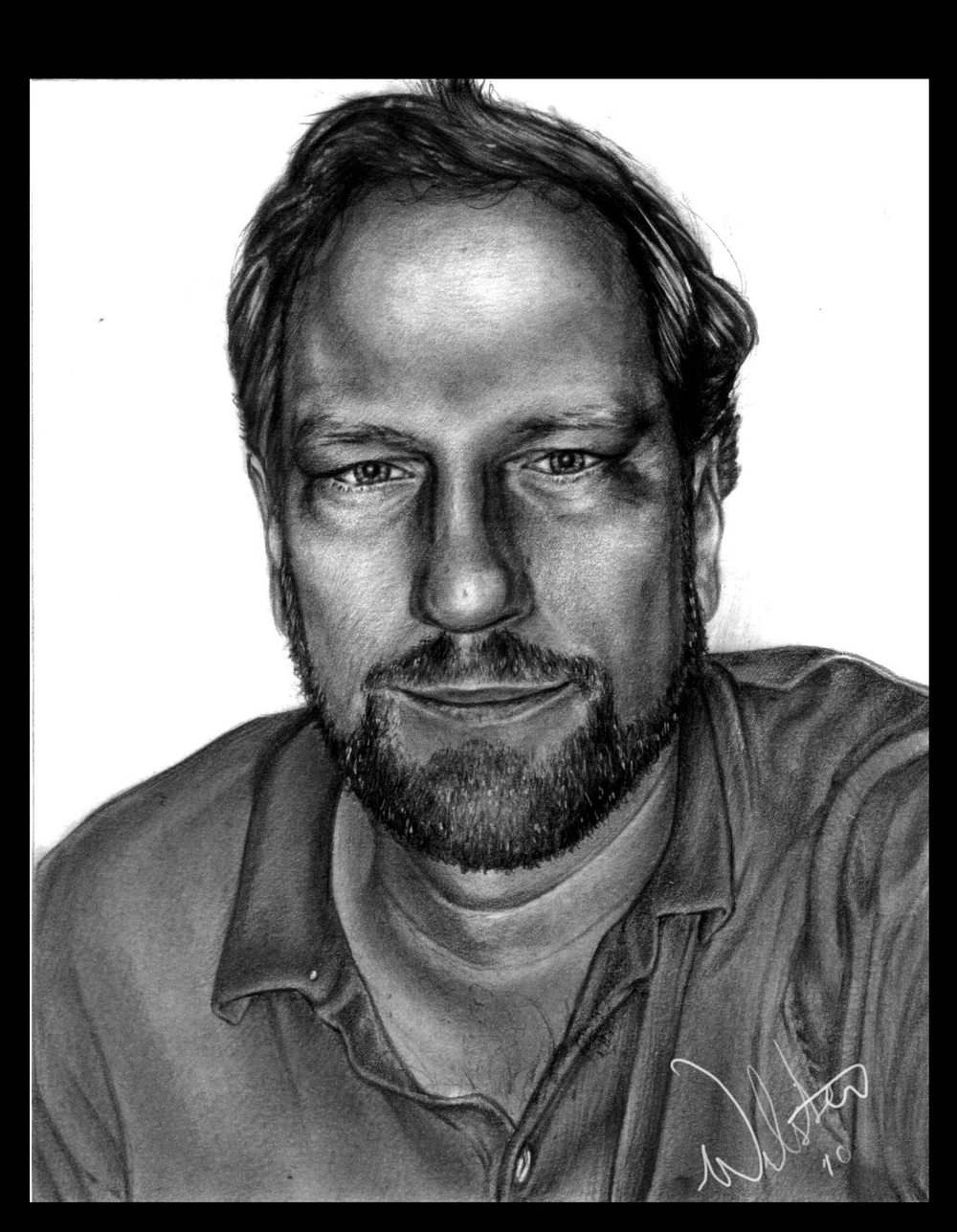 Portrait with Graphite